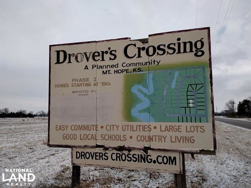Drovers Crossing Subdivision : Mount Hope : Reno County : Kansas