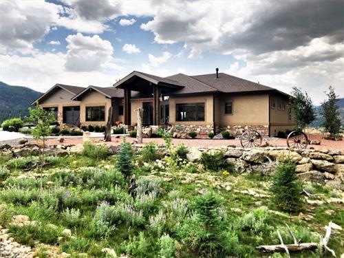 Mountaintop Southwest Elegance : South Fork : Rio Grande County : Colorado
