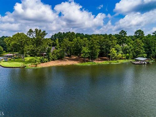 Incredible Point Lot-Lake Sinclair : Eatonton : Putnam County : Georgia