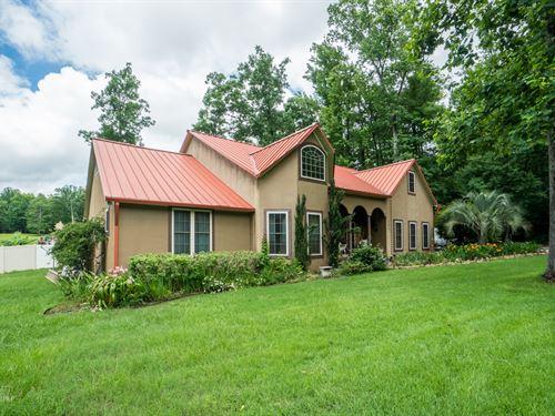 4000+Sf Home On 3+ Acres : Gray : Jones County : Georgia