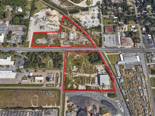 Adjacent Industrial Parcels : Panama City : Bay County : Florida