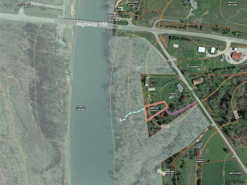 Norfork Lake Cabin on 1/3 Acre Lot : Tecumseh : Ozark County : Missouri