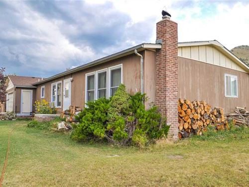 Four Bedroom, Three Bath Home on 3 : Cody : Park County : Wyoming
