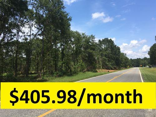 $0 Down With Ample Acreage : Rentz : Laurens County : Georgia
