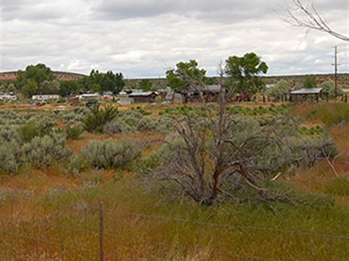Ca Lot With Paved Road Access : Doyle : Lassen County : California