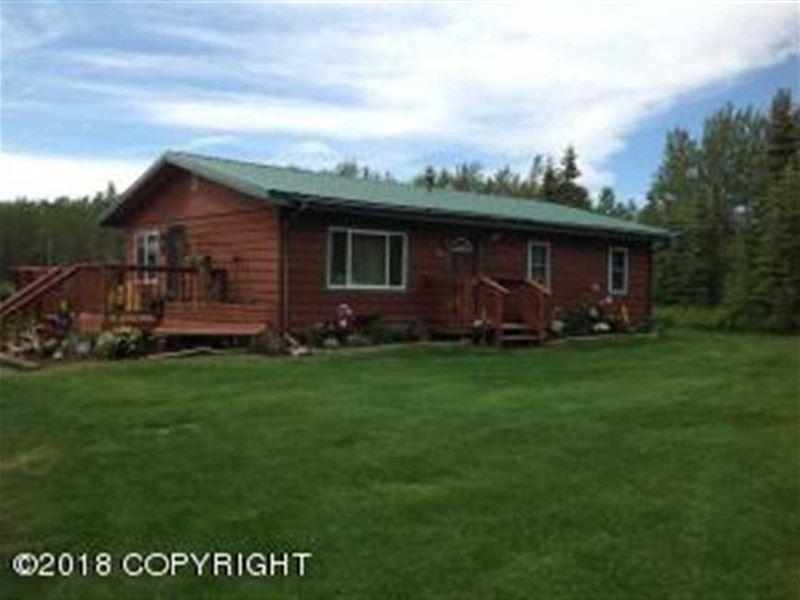Family Home, Mil Cabin OR Rental : Kenai : Kenai Peninsula Borough : Alaska