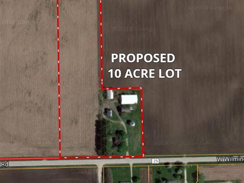 10 Ac Wilton Township Farmstead : Wilton : Will County : Illinois