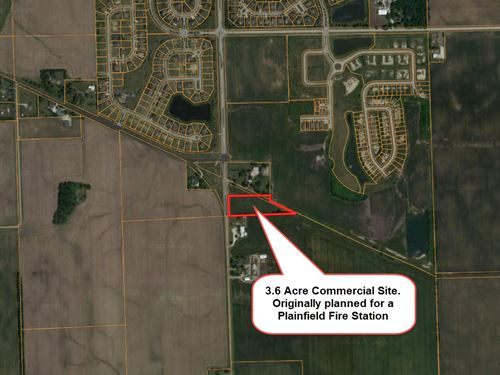 3 Plus Acre Plainfield Commercial : Plainfield : Kendall County : Illinois
