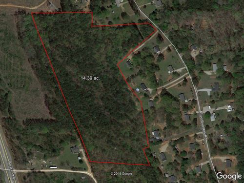 14.39 Acres Zoned Ag-Residential : McDonough : Henry County : Georgia