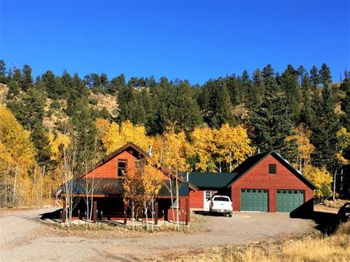Willow Creek Home : South Fork : Rio Grande County : Colorado