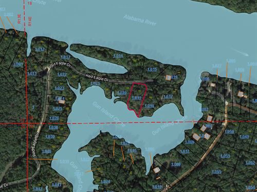 Riverbend Properties Lot 141 : Lowndesboro : Lowndes County : Alabama