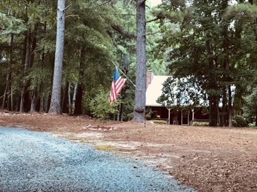 Charming Cottage/Farmhouse On 4 Ac : Greensboro : Greene County : Georgia