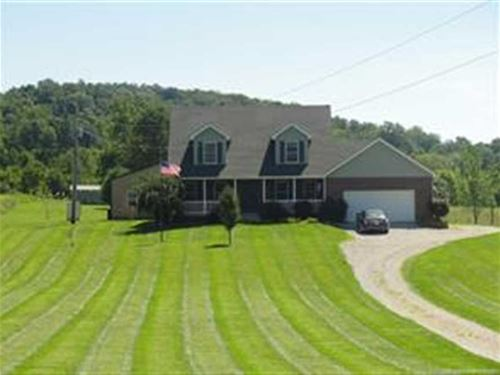 Beautiful 2 Story Custom Built Home : Mauckport : Harrison County : Indiana