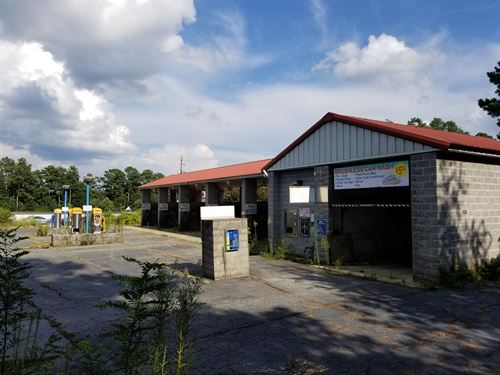 1.7 Acres With Former Car Wash : Stone Mountain : Dekalb County : Georgia