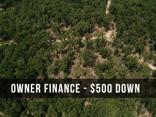 Private 10 Acres With Amazing Views : Drury : Douglas County : Missouri