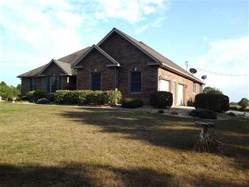Beautiful Full Brick Home on 10 ac : Licking : Texas County : Missouri