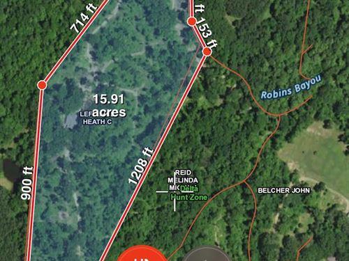 Almost 16 Acres In Natchez : Natchez : Adams County : Mississippi
