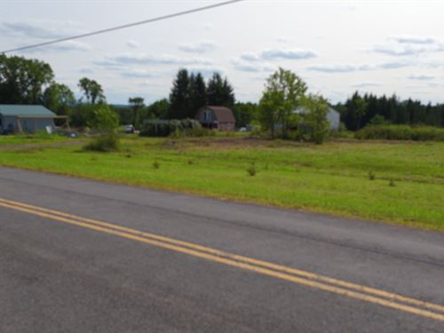 7-Acre Building Lot In The Country : Westmoreland : Oneida County : New York