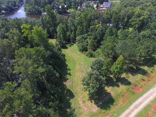 Reduced, .90 Acres of Waterfront : Macon : Warren County : North Carolina