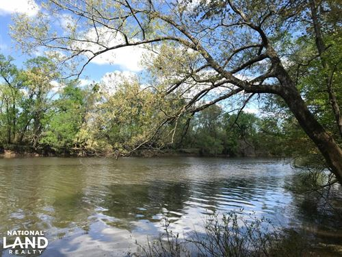 Cape Fear River Getaway 10 Ac : Kelly : Bladen County : North Carolina
