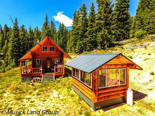 Recreational Cabin Acreage Dixie : Dixie : Idaho County : Idaho