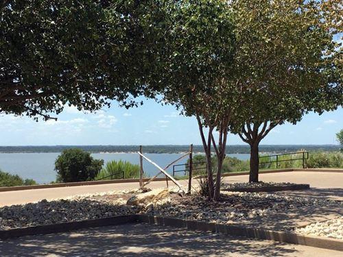 Beautiful Homesite White Bluff : Whitney : Hill County : Texas