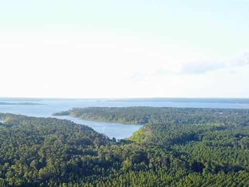 5.6 Acres Lake Sam Rayburn Land : Broaddus : San Augustine County : Texas