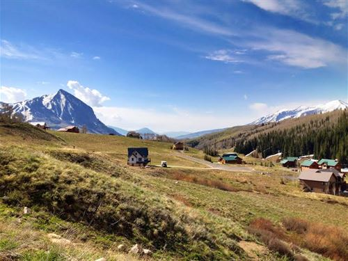 Secluded Crested Butte, Co Homesite : Crested Butte : Gunnison County : Colorado