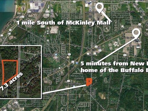 Building Site In Prime Buffalo Spot : Hamburg : Erie County : New York