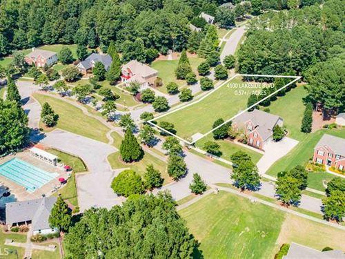 Beautiful Level, Corner Lot : Monroe : Walton County : Georgia