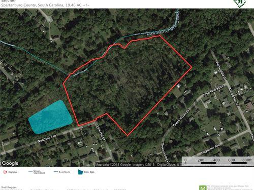 19.46 Acre Residential Development : Spartanburg : South Carolina