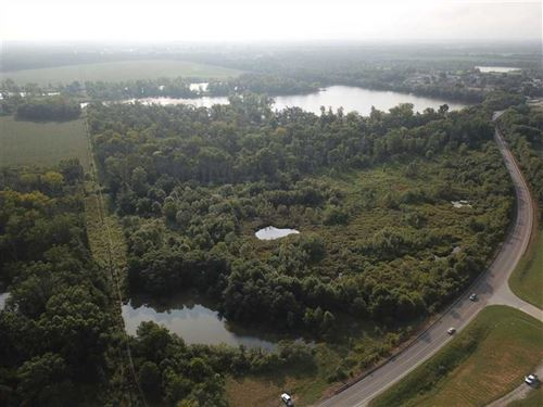 US 150 Wetlands : West Terre Haute : Vigo County : Indiana