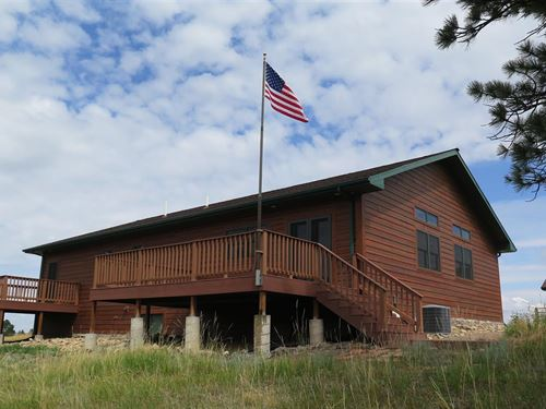 Tower Ridge Cabin : Devils Tower : Crook County : Wyoming