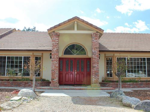 Exceptional Ranch Home : Warner Springs : San Diego County : California