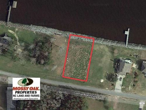 Waterfront Lot on The Albemarle So : Columbia : Tyrrell County : North Carolina