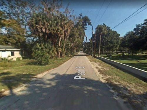 .99 Acres In Saint Augustine, FL : Saint Augustine : Saint Johns County : Florida