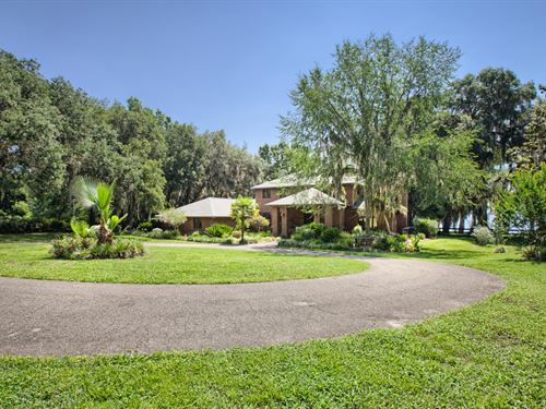 Lake Santa Fe Country Estate Wh-243 : Earleton : Alachua County : Florida