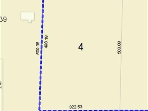 Wooded Lot For Sale $65,000 : Waldo : Alachua County : Florida