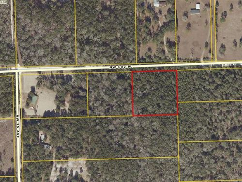 3.02 Acres Wooded 776331 : Branford : Gilchrist County : Florida