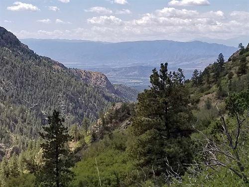 Borders Government Land : Cripple Creek : Teller County : Colorado