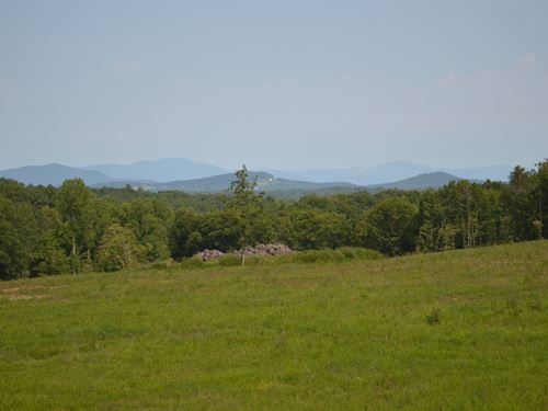 13.46 Acres With Great Mount Views : Campobello : Spartanburg County : South Carolina