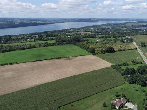 Skaneateles Lot Moments From Lake : Skaneateles : Onondaga County : New York
