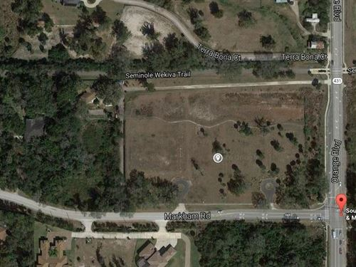 Corner Of Markham Rd & Orange : Sanford : Seminole County : Florida