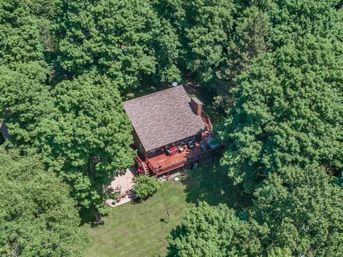 Beautiful Home On 3 Lake Chain : Presque Isle : Vilas County : Wisconsin