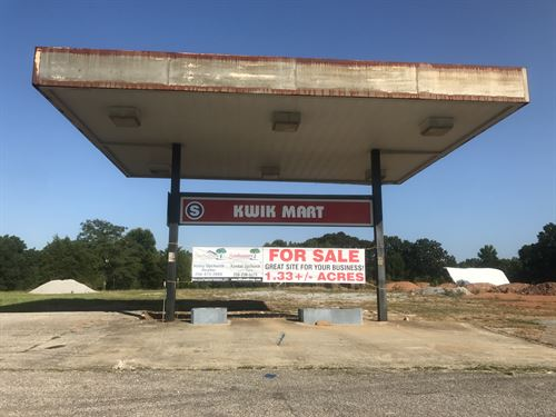 Commercial Property On Highway 9 : Lineville : Clay County : Alabama