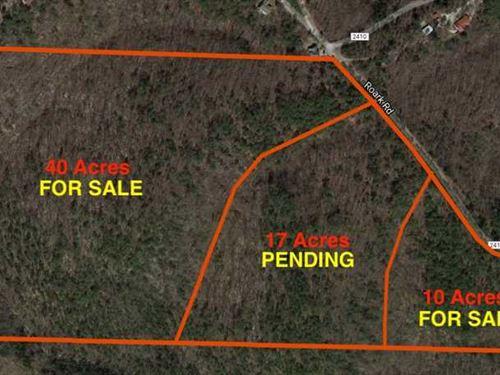 Eureka Springs 10 Acres : Eureka Springs : Carroll County : Arkansas