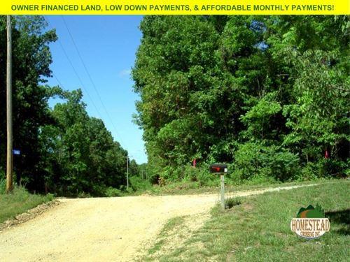 Land For A Small Homestead Or Farm. : Caulfield : Howell County : Missouri