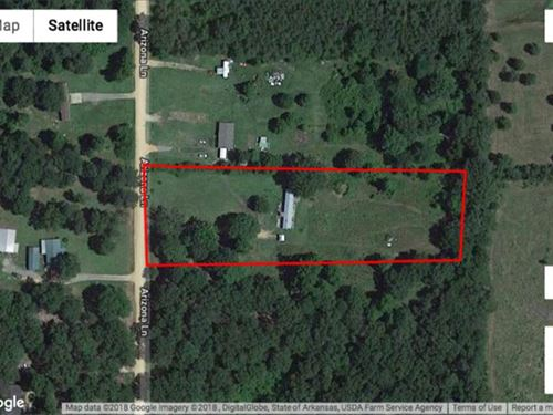 5 Acre Home Site : Star City : Lincoln County : Arkansas