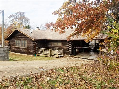 Log Home Lake North : Cherokee Village : Fulton County : Arkansas