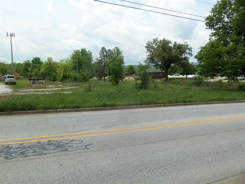 Commercial Land Property Busy : Harrison : Boone County : Arkansas